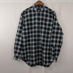 Ralph Lauren Men's Long Sleeve Shirt Plaid L tall